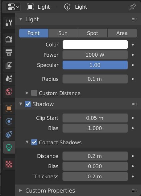 contact shadow blender