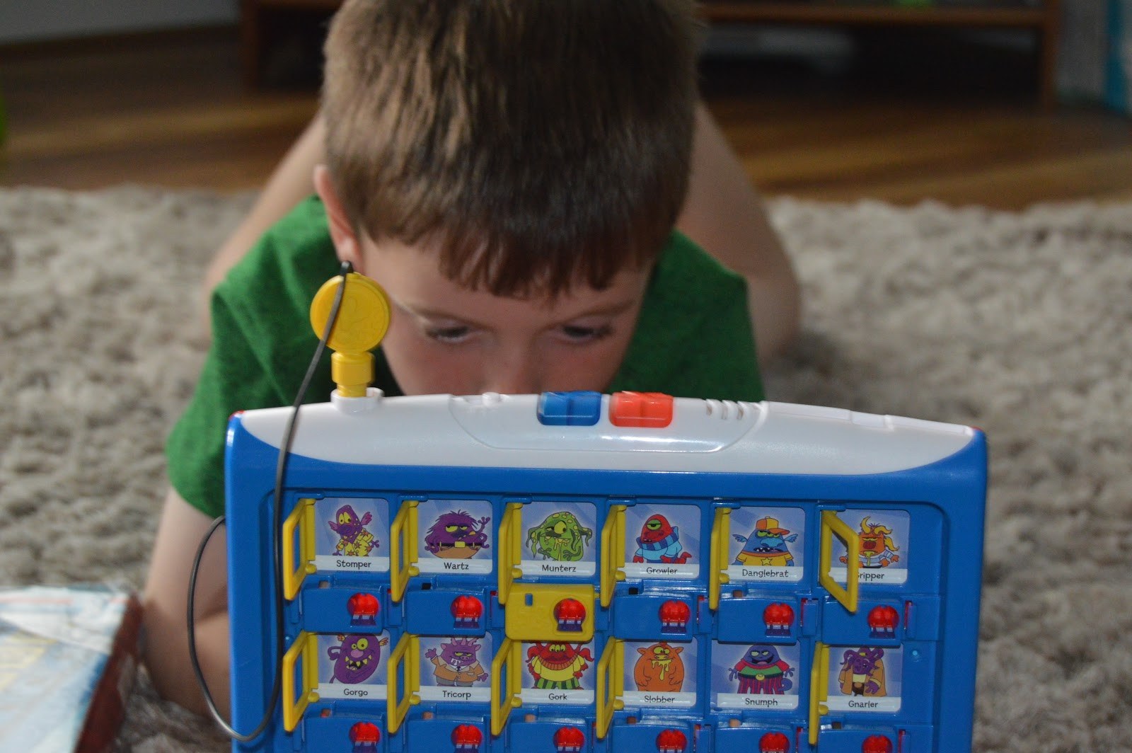 boy playing a game