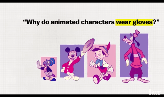 Why Cartoon Characters Wear Gloves
