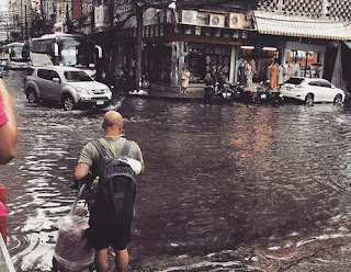 What does mean you dream about Flooding?