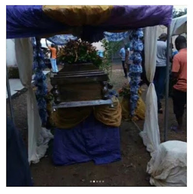 Photos of Tagbo's burial