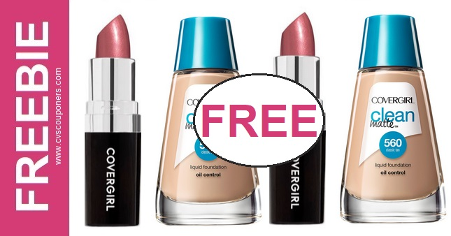 FREE CoverGirl Foundation CVS Deals 10-25-10-31