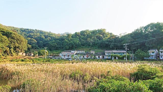 鹿頸吊燈籠徑,鳳坑村