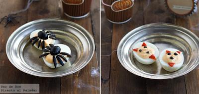Huevos araña y demonio