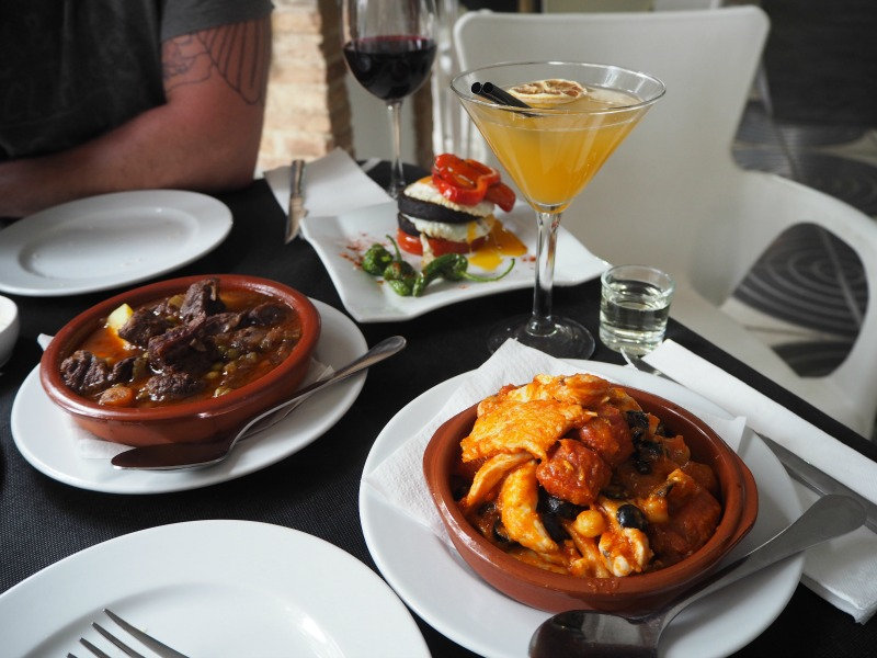 Tapas and cocktails at The Hen's Teeth in Villamartin