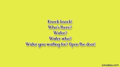 water puns