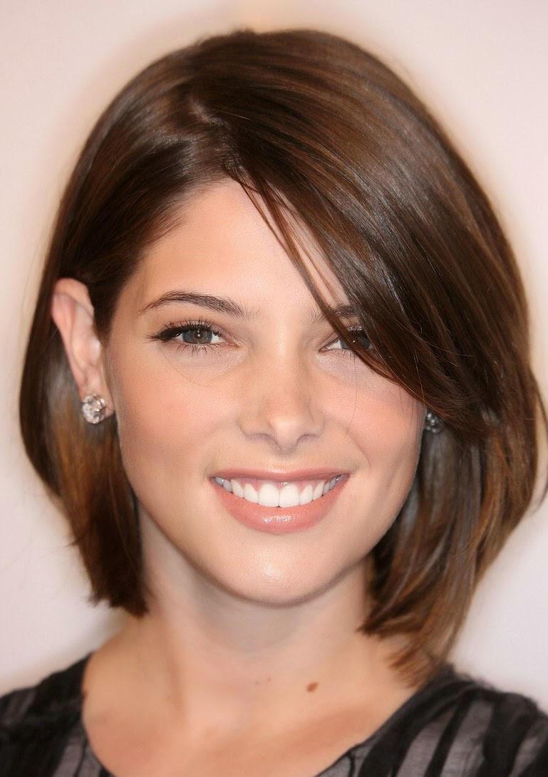 Gaya Rambut Terbaru - Gaya rambut pendek depan