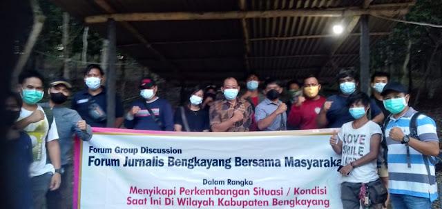 Tangkal HOAX, Polres bersama Jurnalis Bengkayang Jalin Silahturahmi