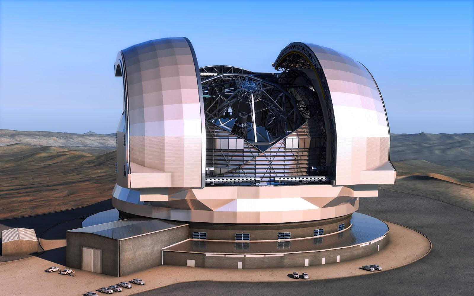 E elt bakal jadi teleskop terbesar di dunia kalastro.id