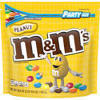 M&M'S Peanut Chocolate Candy | Party Size, 42 Oz.