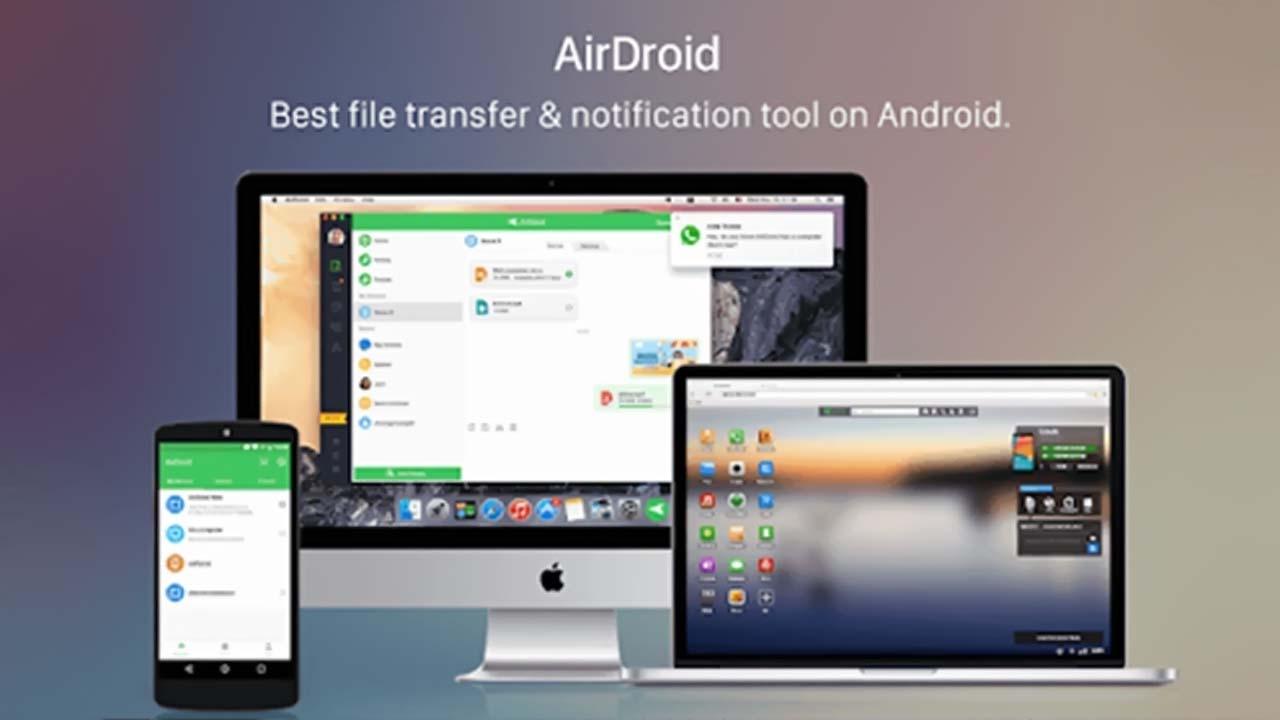 Transfer File Android Tanpa Kabel USB Dengan Aplikasi AirDroid