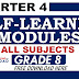 4th Quarter Self-Learning Modules Grade 8 All Subjects
