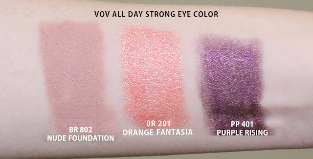 vov all day strong eye color review