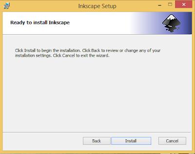 utorial cara download software Inkscape gratis untuk desain vektor di PC/Laptop beserta cara install