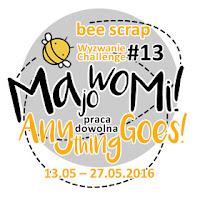 http://beescrapshop.blogspot.com/2016/05/wyzwanie-majowe-13-may-challenge-13.html