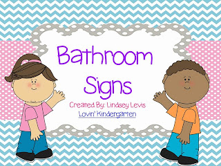 Boys And Girls Bathroom Signs Lovin Kindergarten With Mrs Lindsey A Peek Into