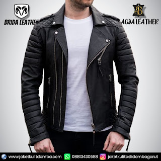 jaket kulit second import