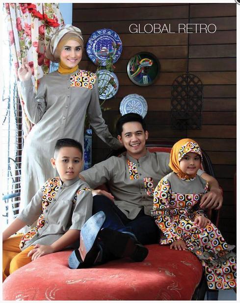Model Busana Muslim Keluarga Terbaru