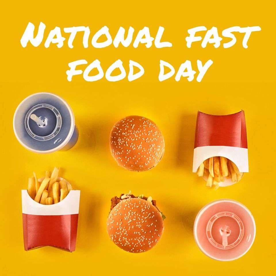 National Fast Food Day Wishes for Whatsapp