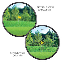 Vibration Reduction, Locked On technology, First Target Priority on Nikon Coolshot 80i and Coolshot 80 VR Golf Laser Rangefinders