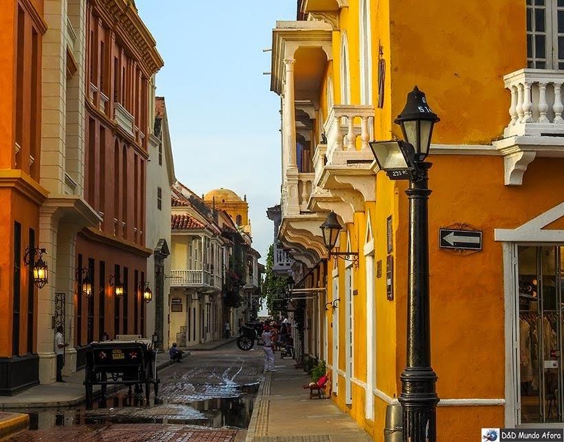 Ruas de Cartagena - Diário de bordo: 4 dias em Cartagena, Colômbia