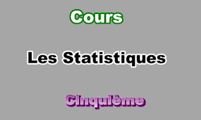 Cours de Statistique 5eme en PDF
