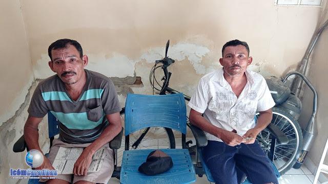 Homens são presos com armas e pássaros silvestres em Campo Grande, RN