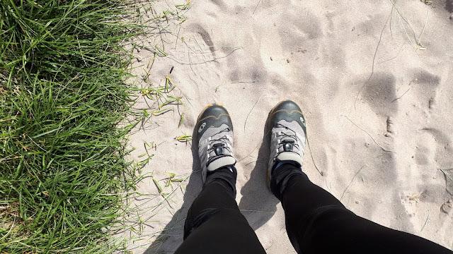 salomon lenkkarit, takaisin ruotuun, juoksu, juoksulenkki rannalla, liikunnan aloittaminen