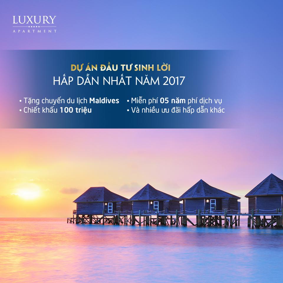 Chính sách ưu đãi khi mua căn hộ Luxury Apartment Đà Nẵng