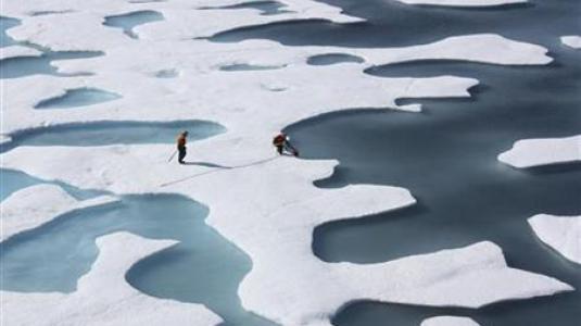 Συρρίκνωση του πάγου της Αρκτικής - H δεύτερη μεγαλύτερη από το 1979