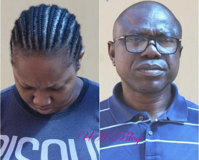 Bank Manager And His Wife Arrested For $1.49million Scam (Photo)