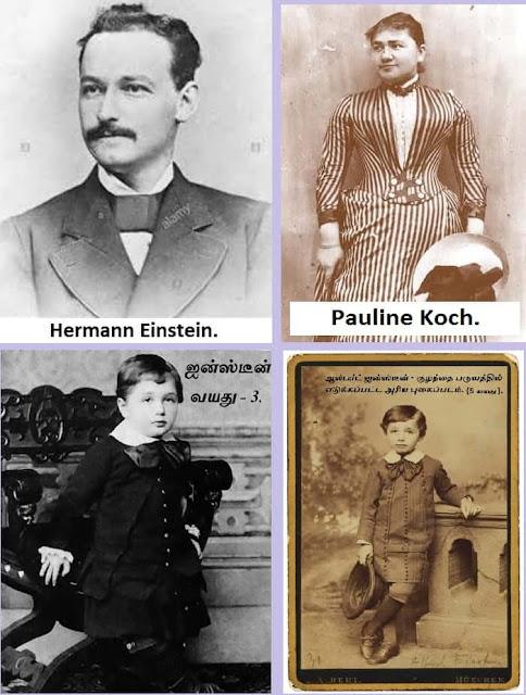 Albert Einstein father mother