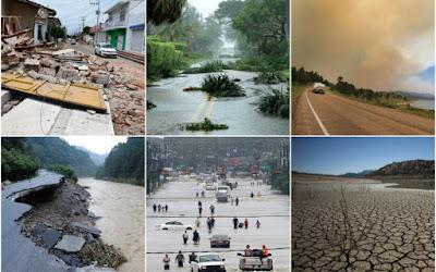 Catastrophes naturelles en français - Vocabulaire