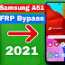 Samsung A51 (SM-A515F) Android 11 FRP Bypass/Google Account Lock Bypass | Latest Security Patch-July