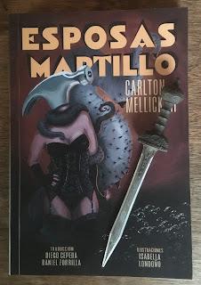 Portada del libro Esposas martillo, de Carlton Mellick III