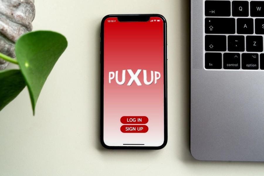 Puxup Mock Brand App