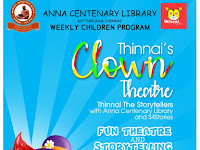 Weekly Children Program-FUN THEATRE AND STORY TELLING-03.11.2019