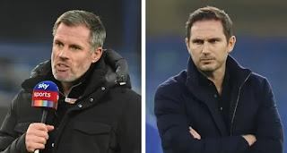 Jamie Carragher reveal reason behind Frank Lampard's struggles at chelsea this season
