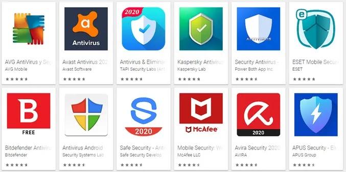 مضاد فيروسات android