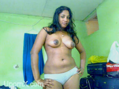 Naked aunty with men