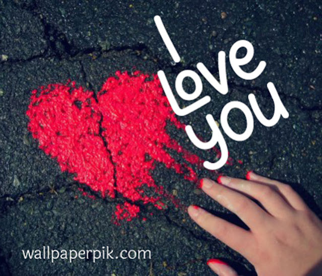 sad i love you image