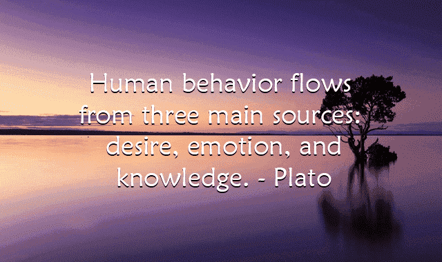 Psychology quotes on human behavior