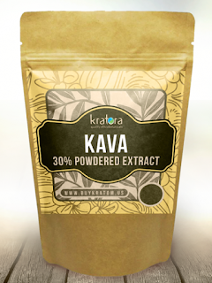 KavaKava powder bag at Pars in Columbia Maryland 21045
