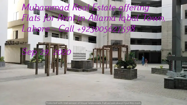 Muhammad Real Estate offering Flats for Rent in Allama Iqbal Town