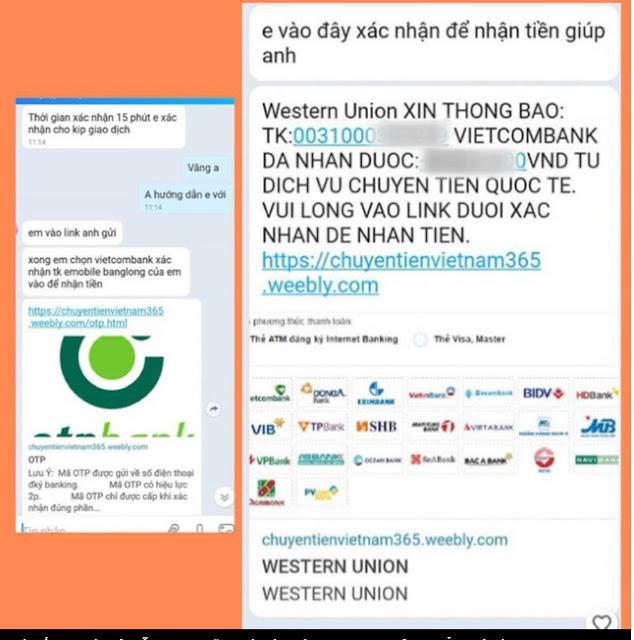 Bộ Công an: Cảnh báo thủ đoạn giả mạo 'Western Union' lừa đảo giới bán hàng online