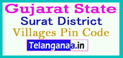 Surat Pin Codes in Gujarat State
