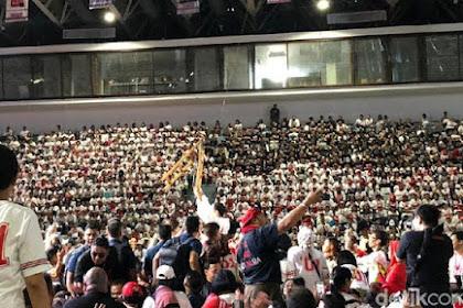 Pose 2 Jari di Deklarasi Alumni SMA Jakarta, 3 Pria Diamankan