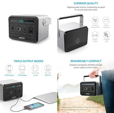 Anker Powerhouse Powerbank 120.600 mAh