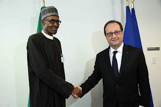 UN General Meeting: Buhari meets with French President