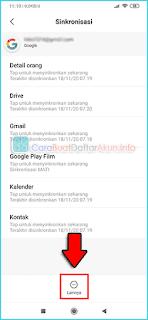 cara menghapus akun google play store xiaomi